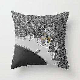 'Isolation' Throw Pillow