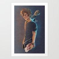Artsy Harry Art Print