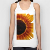 sunflower Tank Tops featuring Sunflower5 by Regan's World