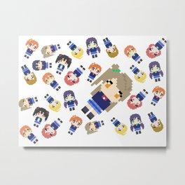 Pixel Kotori Metal Print
