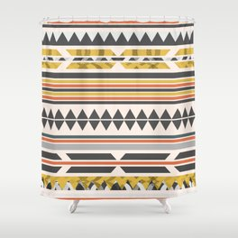 Aztec pattern Shower Curtain