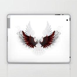 Black Wings Laptop & iPad Skin
