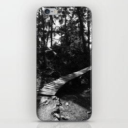 Lost Lake Bridge iPhone Skin