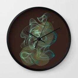 Organic Feelings II Wall Clock
