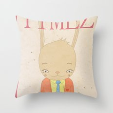 TIMEZ MAGAZINE HUG Throw Pillow