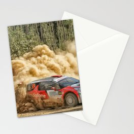 Craig Breen / A. Hayes Rali de Mortágua Stationery Cards