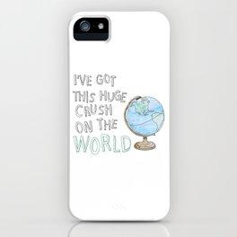 World Crush iPhone Case