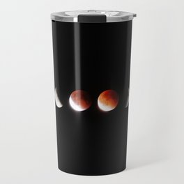 The Phases of the Moon (Color) Travel Mug