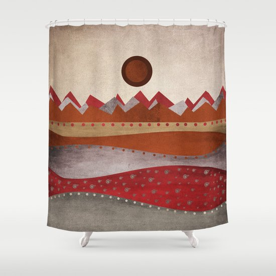 Textures/Abstract 135 Shower Curtain