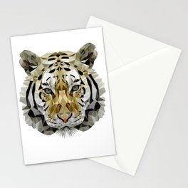 Fractal Tiger Stationery Cards