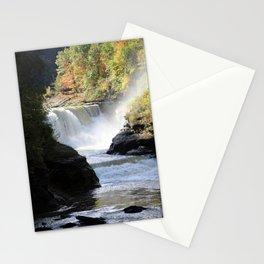 Letchworth Falls-Portrait Stationery Cards