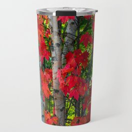 Birch Maple by Teresa Thompson Travel Mug