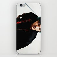 louis tomlinson iPhone & iPod Skins featuring Louis Tomlinson by Becca / But-Like-How