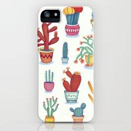 Cactus Poster iPhone Case
