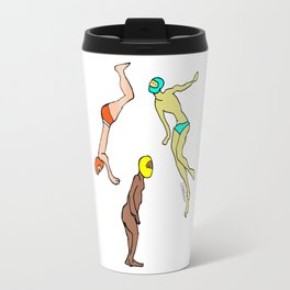 Martians Landing Travel Mug