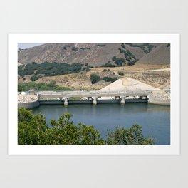 Bradbruy Dam Art Print