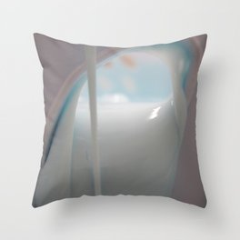 Afternoon with Lucy Throw Pillow