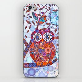 If Klimt Painted An Owl :) Owls are darling birds! iPhone Skin
