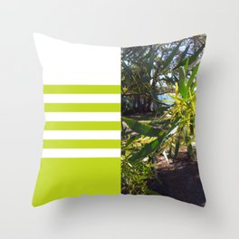 Wattle I do in Vincentia Throw Pillow