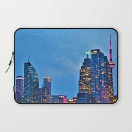 Toronto at Twilight Laptop Sleeve