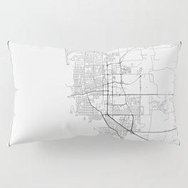 Minimal City Maps - Map Of Boulder, Colorado, United States Pillow Sham
