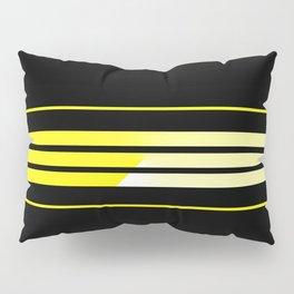 Team Colors 5....Yellow , black Pillow Sham