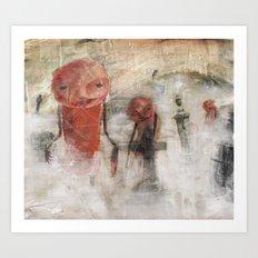 The Dead Will Walk Again Art Print