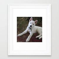 eddie vedder Framed Art Prints featuring Vedder Pillow by CindiParkinson