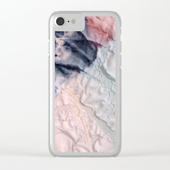 Folds II Clear iPhone Case