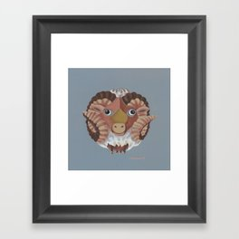 Aries (grey) Framed Art Print