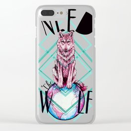 We Need The Wolf Clear iPhone Case