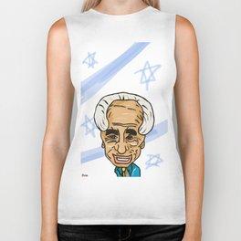 Shimon Peres Biker Tank