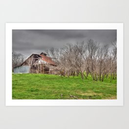 Abandoned Barn 5 Art Print