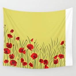 Spring poppies Wall Tapestry