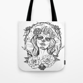 Day of the Dead Mexico Tote Bag