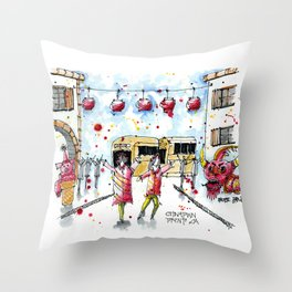 Chinese New Year 1 Throw Pillow