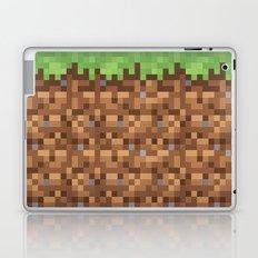 Minecraft Dirt Block Laptop & iPad Skin