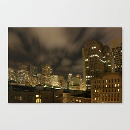 La Jolla Night Canvas Print