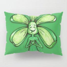 """Green"" Color Chakra Flowerkid Pillow Sham"