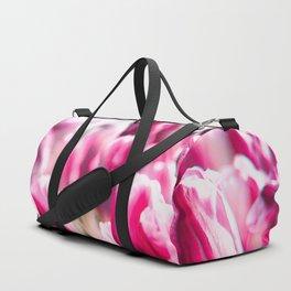 Pink tulips Duffle Bag