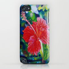 Tropical Hibiscus Slim Case iPod touch