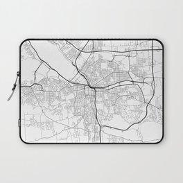 Minimal City Maps - Map Of Syracuse, New York, United States Laptop Sleeve