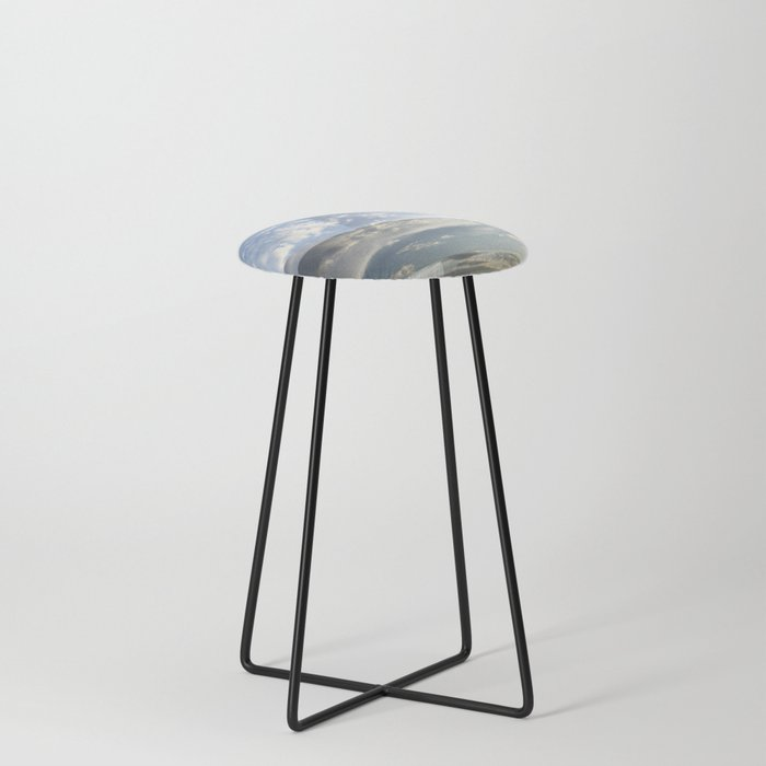 Seattle Sky Counter Stool