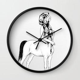 horses for courses I Wall Clock