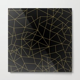 Geometric Pattern XI Metal Print