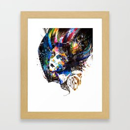 The Free - Minjae Lee - Grenomj Framed Art Print