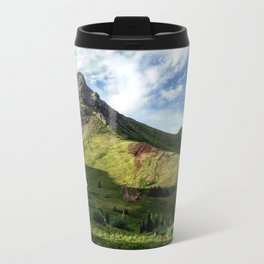 Outside the Opus Hut Travel Mug
