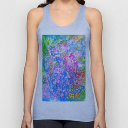 All The Colors in My Garden Unisex Tank Top