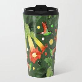 Colibri&Brugmansia Travel Mug