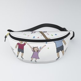 Cats party cat piñata Fanny Pack